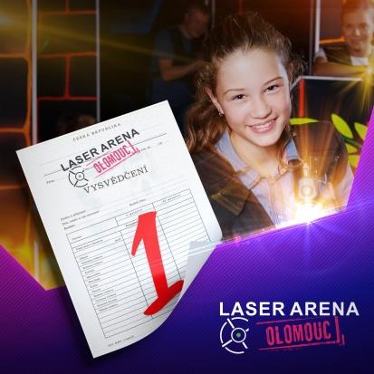 Laser - Olomouc - Vysvedceni